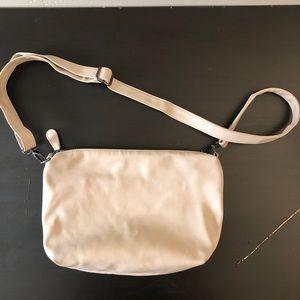 Steve Madden Tan Faux Leather Crossbody Bag Clutch